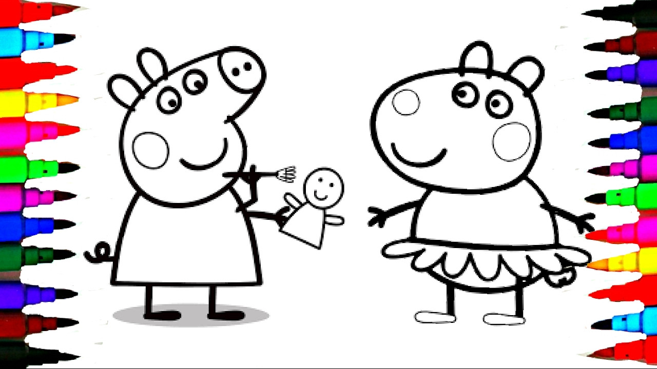 The 25 Best Ideas for Coloring Pages for Kids Peppa Pig ...