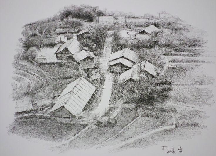 Landscape Fountain Sketch 42 best My Landscape sketch images on Pinterest