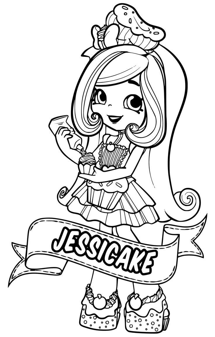 25 Best Ideas Shopkins Girls Coloring Pages - Home, Family ...