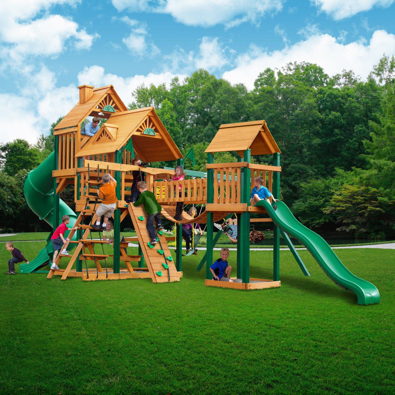 21 Terrific Backyard Swing Set for Kids - Home, Family ...